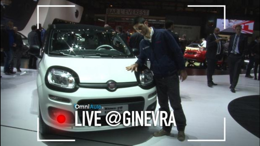 Salone di Ginevra: Fiat Kung fu Panda, simpatica e benefica [VIDEO]