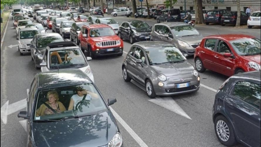Tutte le auto d'Italia, online il parco circolante
