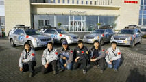 China films the world in Cadillac SRX