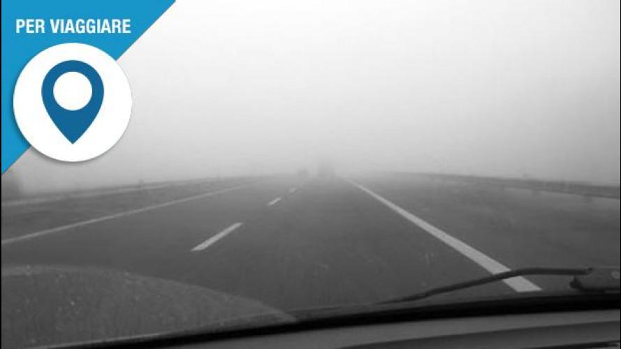 Nebbia, sei consigli per evitare incidenti quando si è in viaggio