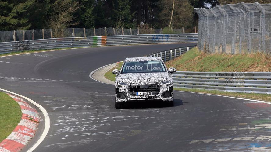 Audi Q8 Nurburgring