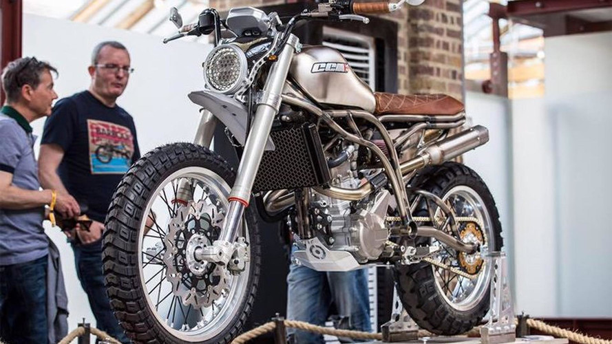 CCM Unveils Spitfire Scrambler At London Show