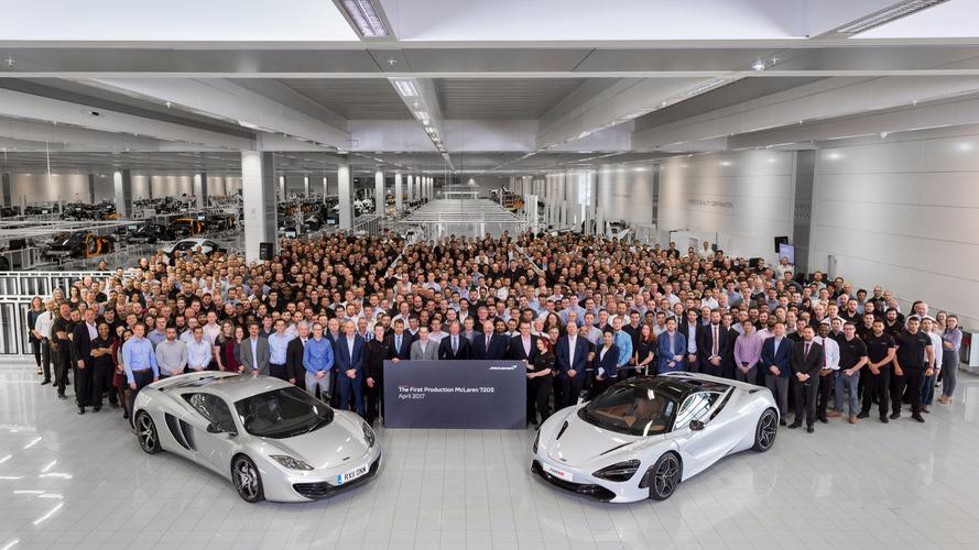 La McLaren 720S entre déjà en production
