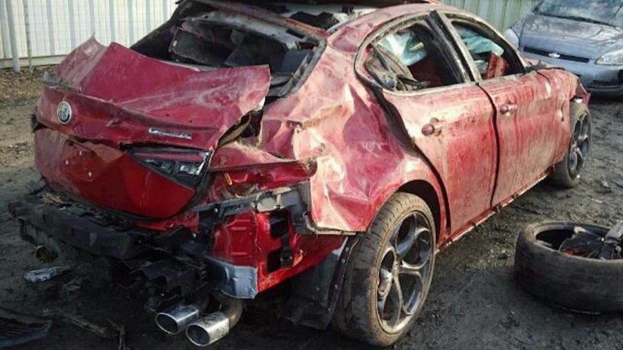 Insolite - Une Alfa Romeo Giulia Quadrifoglio à seulement 225$