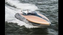 Schnittige Yacht mit Lexus-Power