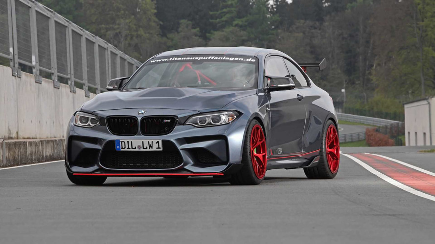 Lightweight BMW M2 CSR Gets An M3 Engine Swap And 610 HP