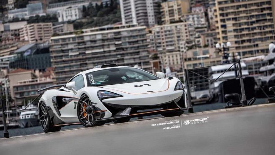McLaren 570S Looks Race Ready In New Body Kit