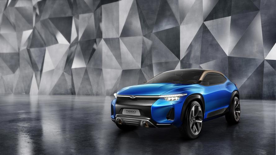 Chery Tiggo Sport Coupe Concept CUV segmenti için geliyor