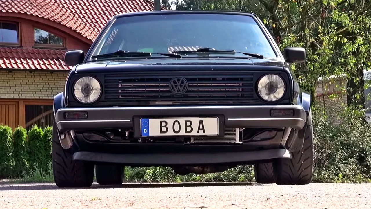 1,200 horsepower VW Golf