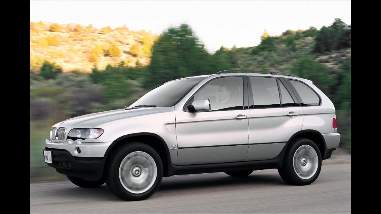 BMW X5 (E53): Ab 3.500 Euro