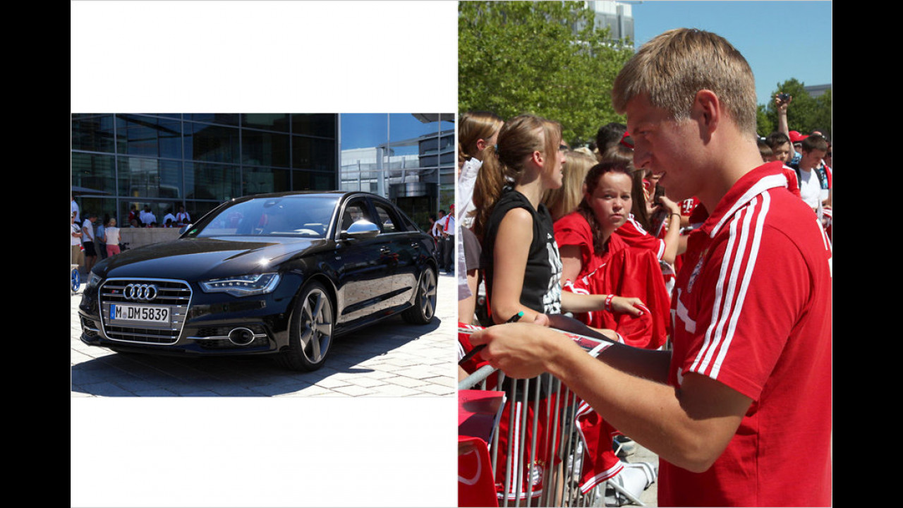 Toni Kroos: Audi S6
