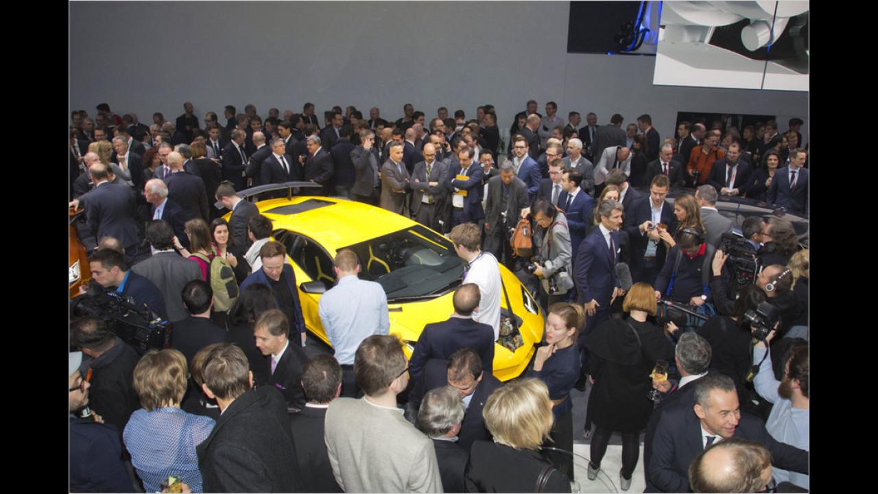 VW-Konzernabend Genf 2015