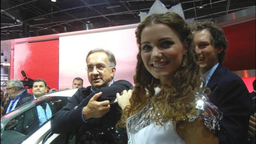 La Fiat Panda 4x4 fra Marchionne e Miss Italia