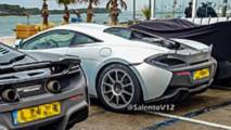 Possible McLaren 600 LT spy photos