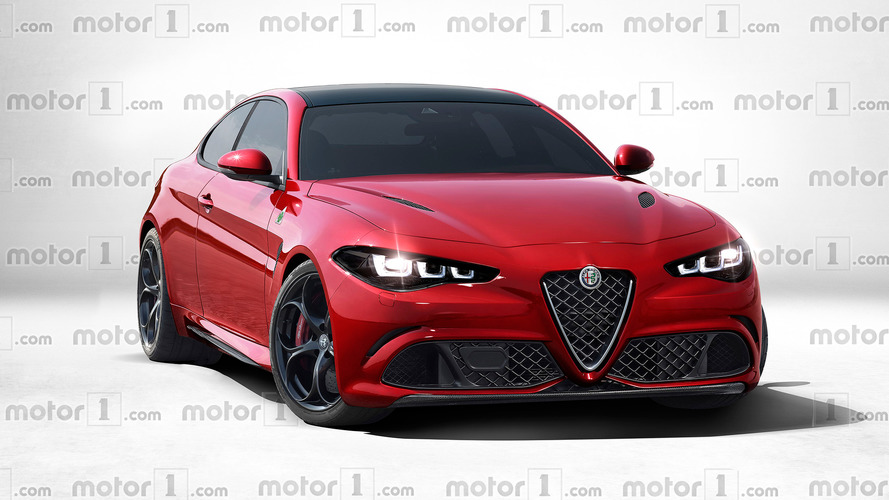 Alfa Romeo GTV rendered –how the new two-door coupe could look