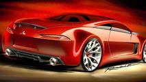 Mitsubishi Concept-Ra sketches