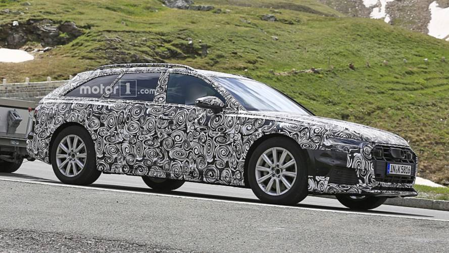 2020 Audi A6 Allroad Spied For The First Time