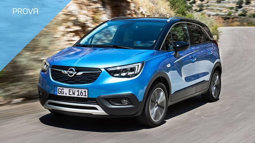 Opel Crossland X, come va con il nuovo motore diesel