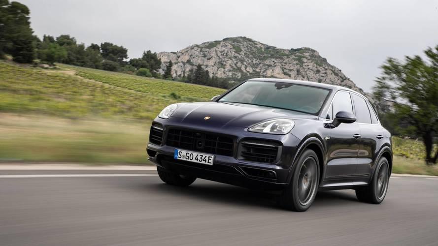 Essai Porsche Cayenne E-Hybrid (2018) - Demain commence aujourd'hui