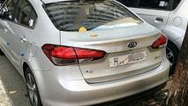 Kia K3 facelift spy photo