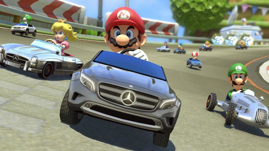 Mercedes cars arrive on Mario Kart 8 [video]