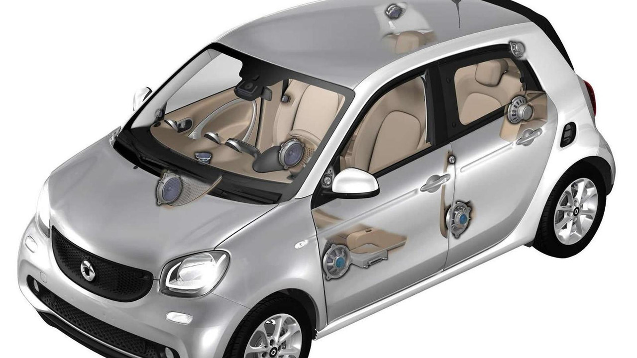 2015 Smart ForFour with Harman sound system