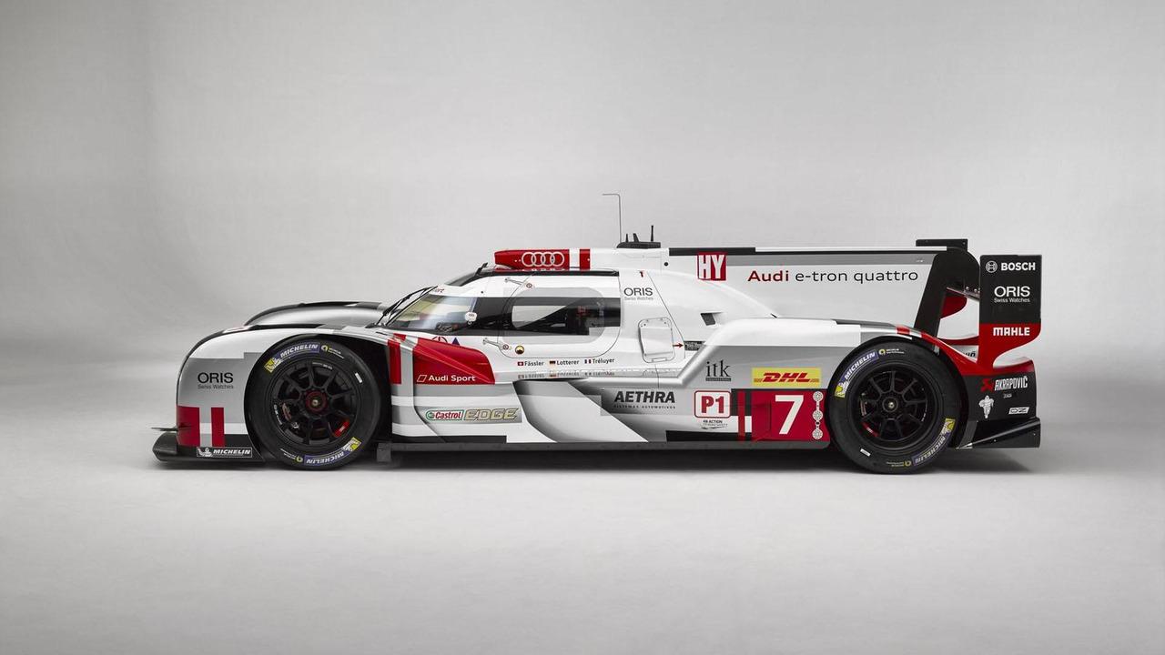 Audi R18 e-tron quattro with new aerodynamics kit