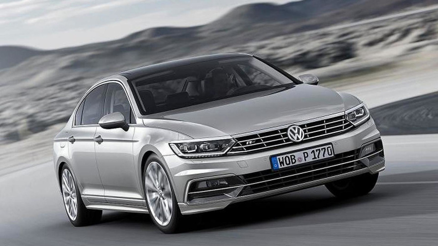 2015 Volkswagen Passat first official images released