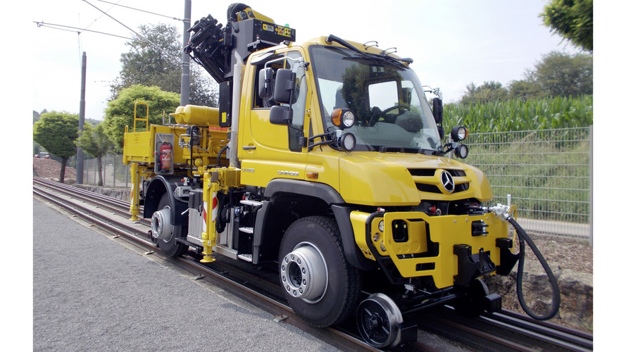 Mercedes-Benz Unimog railroad version