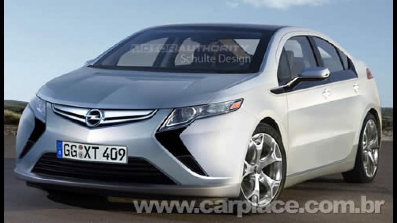 Visual do novo Opel Ampera é o mesmo do Flextreme Concept? Poderia ser