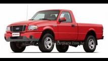 Ford Ranger Sport 2008 cabine simples - Veja fotos oficiais da nova versão