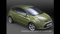 Agora é oficial!! Conheça o Novo Ford Fiesta 2009 - Veja fotos