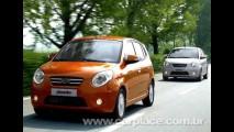 Novo Kia Picanto 2008 chega ao Brasil com novidades e deve manter preço