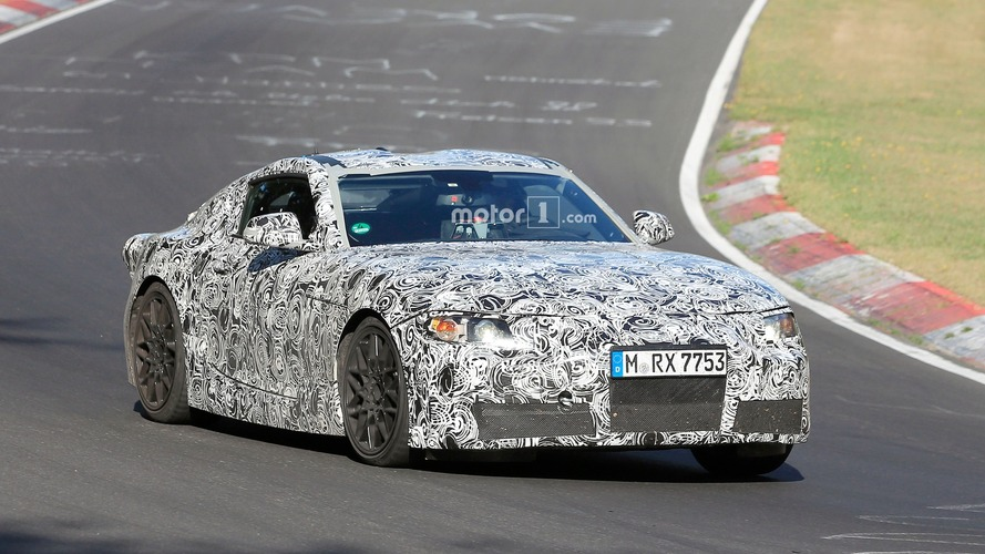 Toyota Supra speeds onto the 'Ring for testing