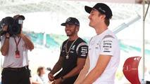 Lewis Hamilton, Mercedes AMG F1, Nico Rosberg, Mercedes AMG F1