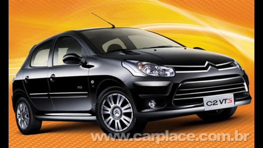 na china peugeot 206 vendido como citr en c2 ganha vers o esportiva vts. Black Bedroom Furniture Sets. Home Design Ideas