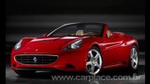 Ferrari divulga fotos oficiais de sua nova máquina: Ferrari California 2009