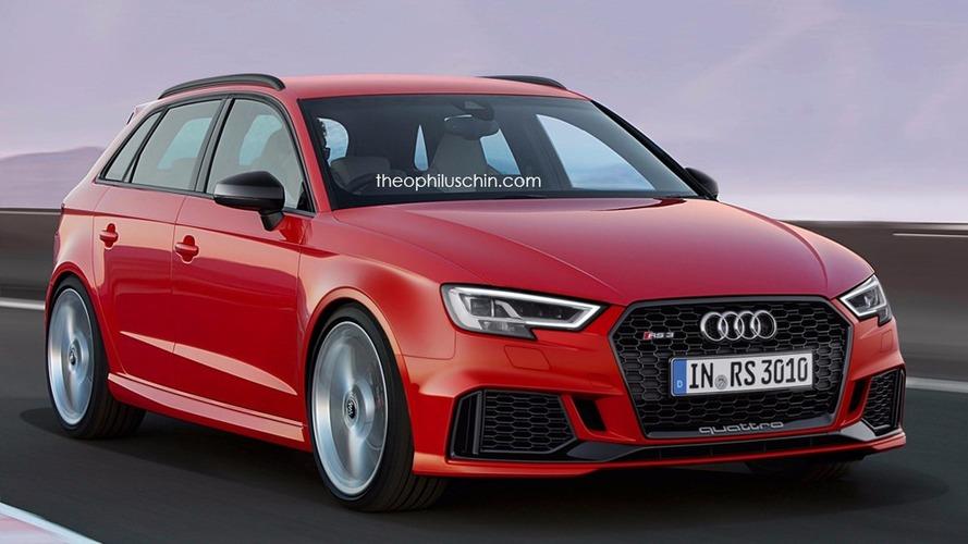 Audi RS3 Sportback - Des images qui donnent à réfléchir