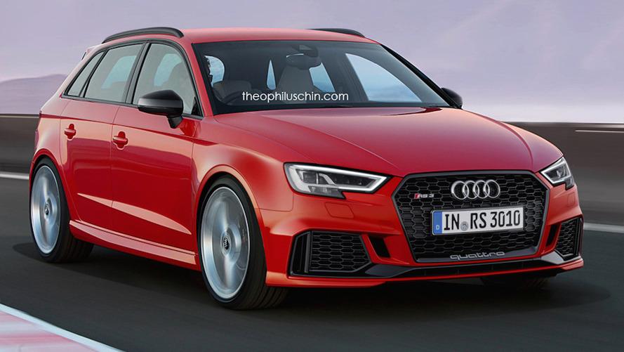 Audi RS3 Sportback böyle görünecektir