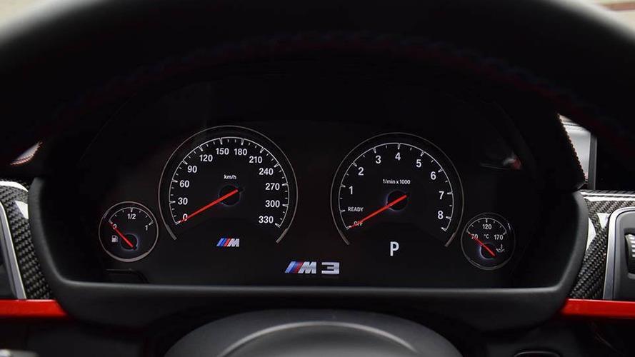 BMW M3 avec Pack Competition et Rouge Ferrari