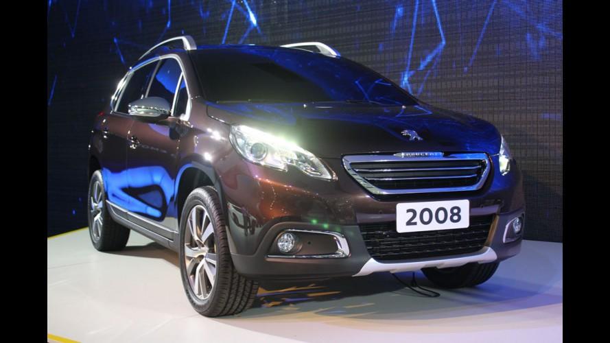Peugeot inicia produção do novo 2008 no Brasil
