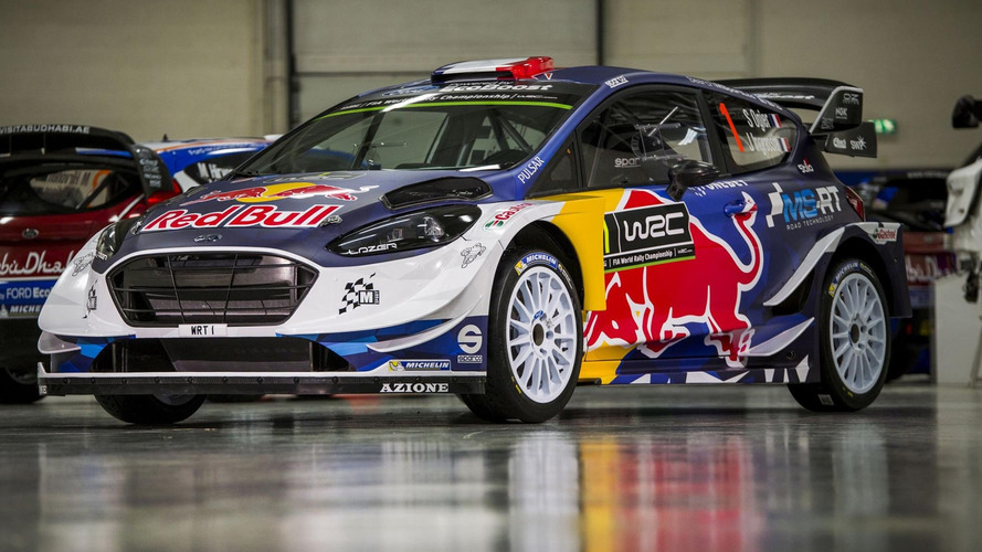 2017 Ford Fiesta WRC by M-Sport puts on racing suit