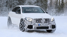 2018 Mercedes-AMG GLC 63 Coupe spy photos