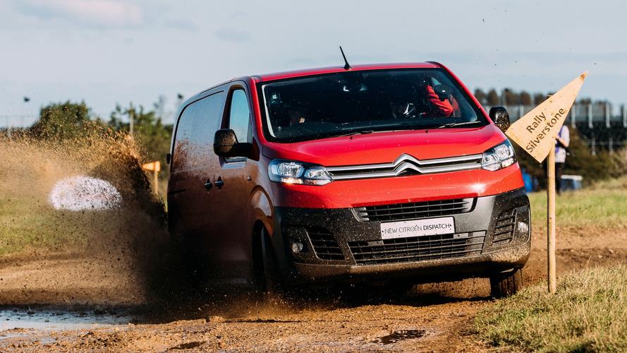 Citröen Dispatch, WRC testinde çevikliğini kanıtlamaya çalışıyor