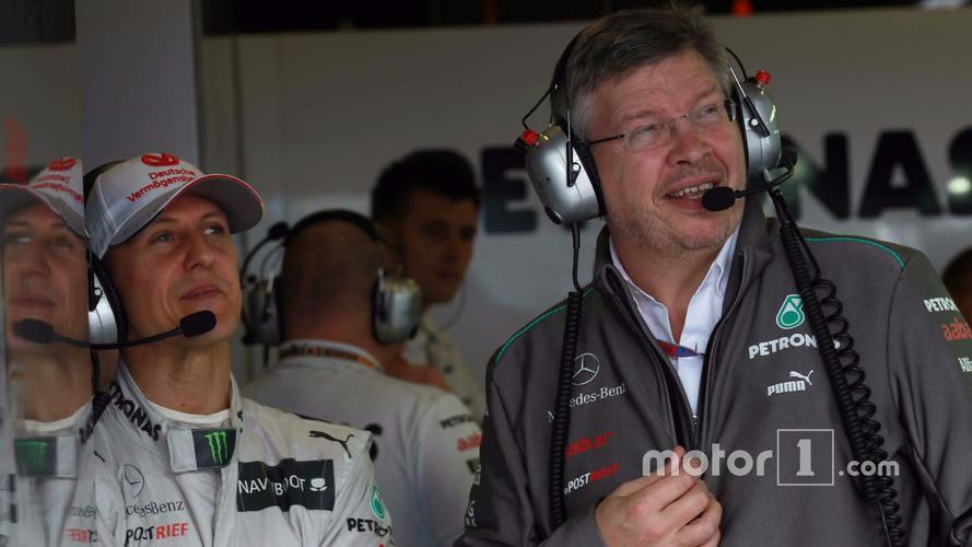 Schumacher showing