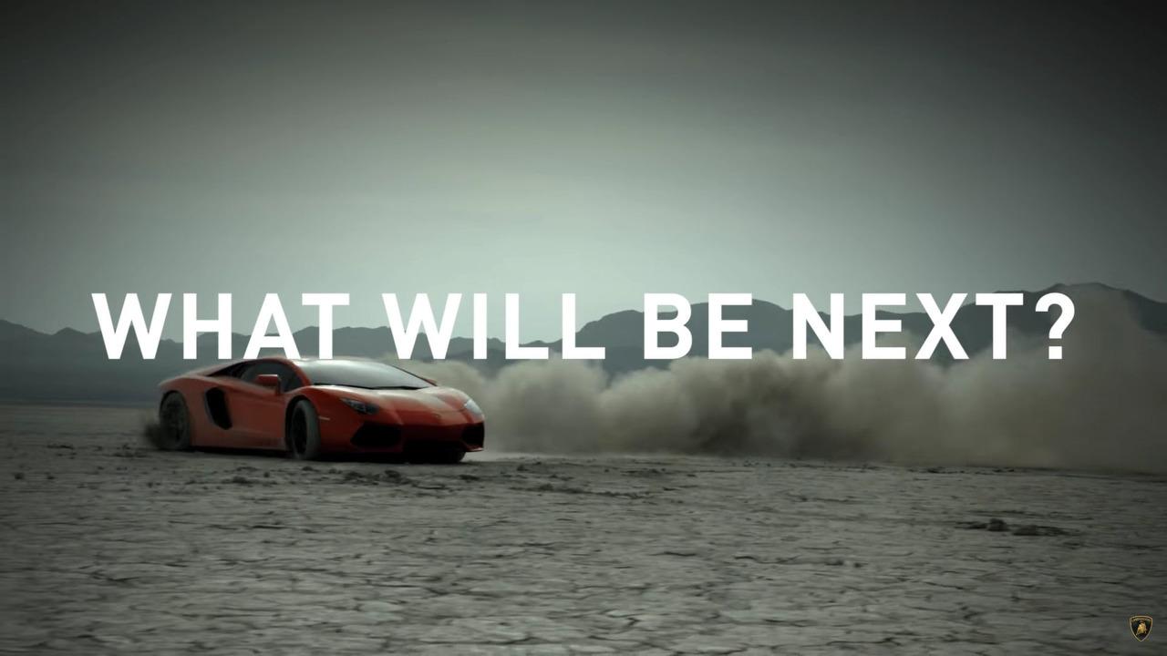 Lamborghini screenshot from teaser video