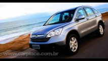 Honda faz recall de Civic, CR-V e Fit por problema no airbag