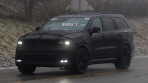2018 Dodge Durango SRT Spy Photos