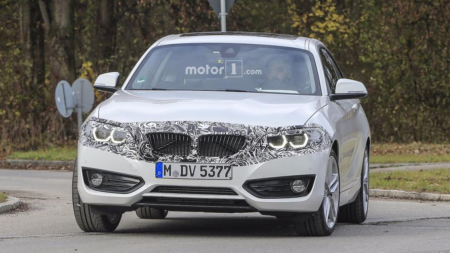 La BMW Série 2 Coupé restylée 2017 en photos espion