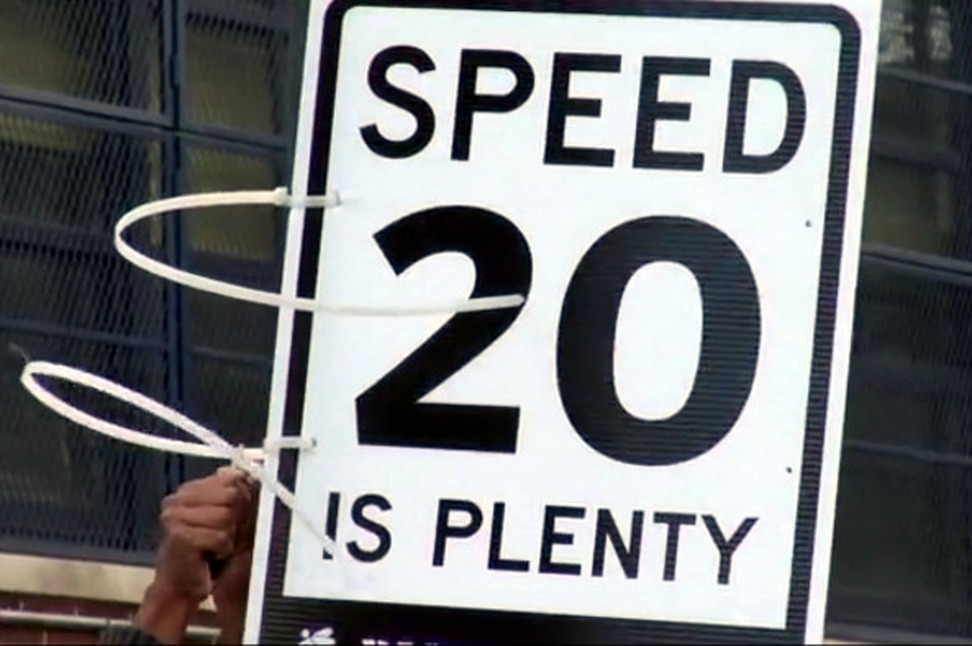 "NYC Safety Group Posting Fake ""20 MPH"" Signs in 30 MPH Zones"